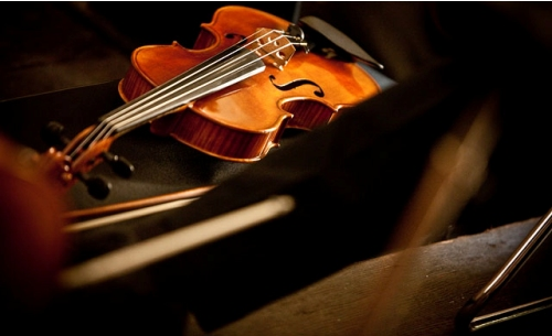 One of our violins